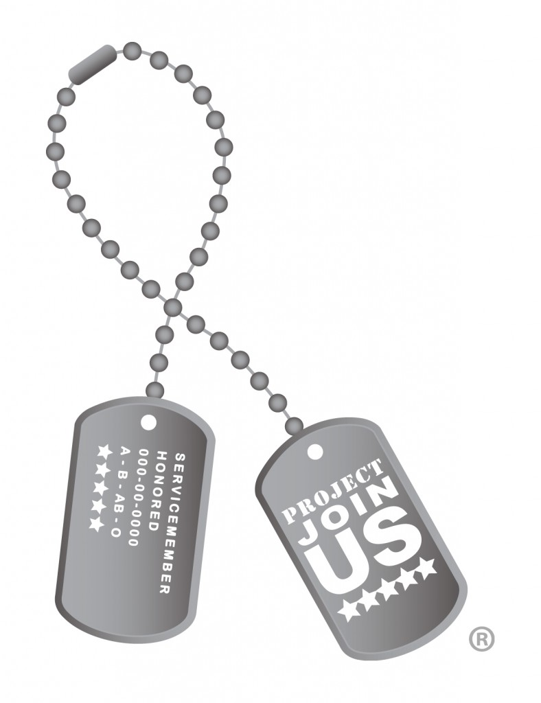 Dog Tag Ribbon - Shaded